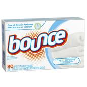 Dryer Sheet - Sensitive Skin - 80 Sheets
