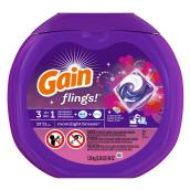 Gain Flings Detergent - Moonlight Breeze - 57 Pieces