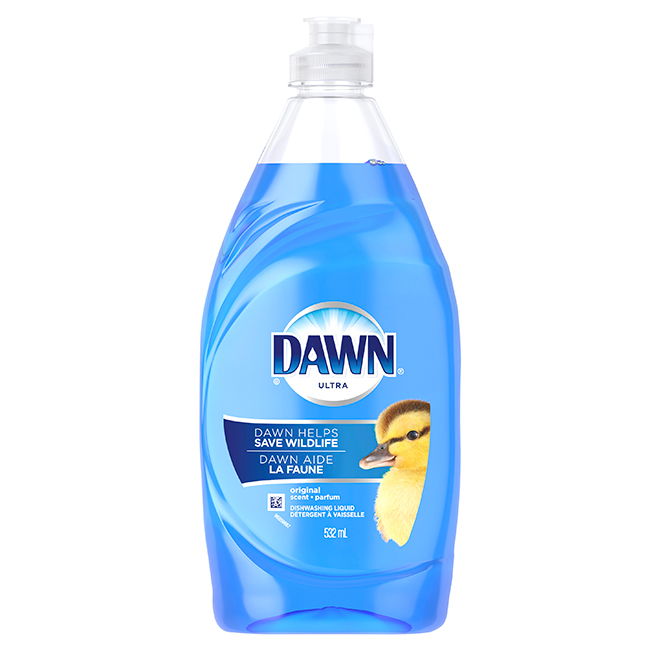 Liquid Dishwashing Soap - 532 mL - Blue
