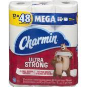 Papier hygiénique Charmin Ultra, 2 épaisseurs, 12 rouleaux