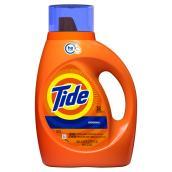 Détergent à lessive HE Tide, 46 oz, parfum original