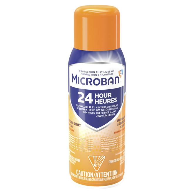 Microban(R) Aerosol Disinfectant - 3-in-1 - 33.6 oz - Citrus