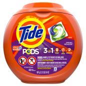 Détergent à lessive Tide Pods, Spring Meadow, 42 capsules