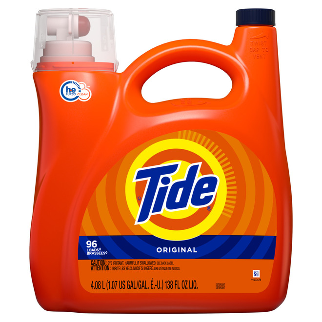 Tide(R) Original Liquid Laundry Detergent- 96 Loads - 138 oz
