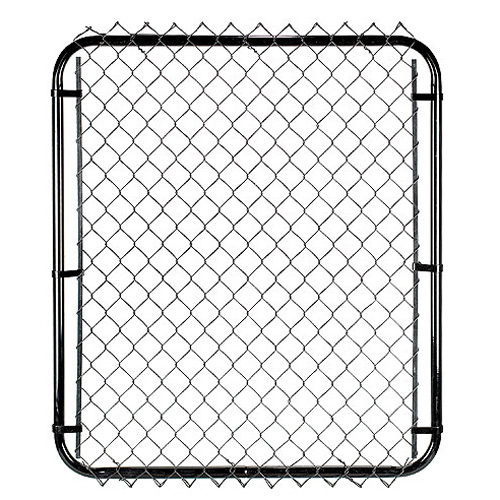"Galvanized Chain-Link Fence Gate - 48"" x 40"""