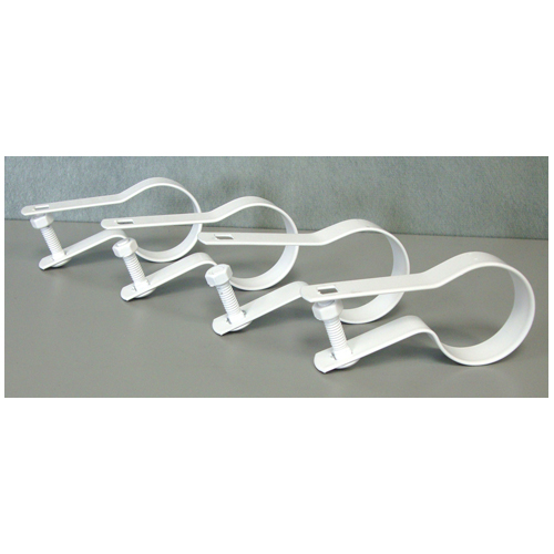 Galvanized Steel Tension Band - White - Pack of 4