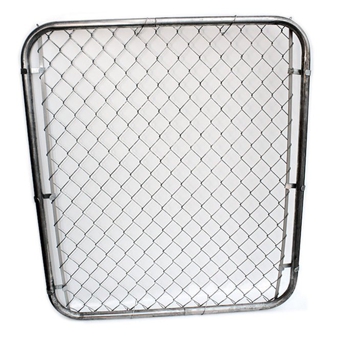"2"" Mesh Gate - 4' - Galvanized Steel"