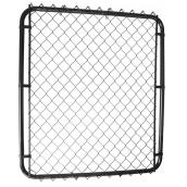 "2"" Steel Mesh Gate - 4' - Black"