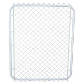 "2"" Steel Mesh Gate - 4' - White"