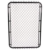 "1 1/2"" Steel Mesh Gate - 5' - Black"