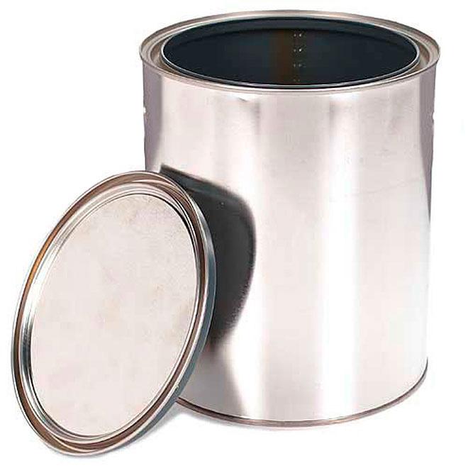 Empty Metal Can Mctt 1usq Gold Rona