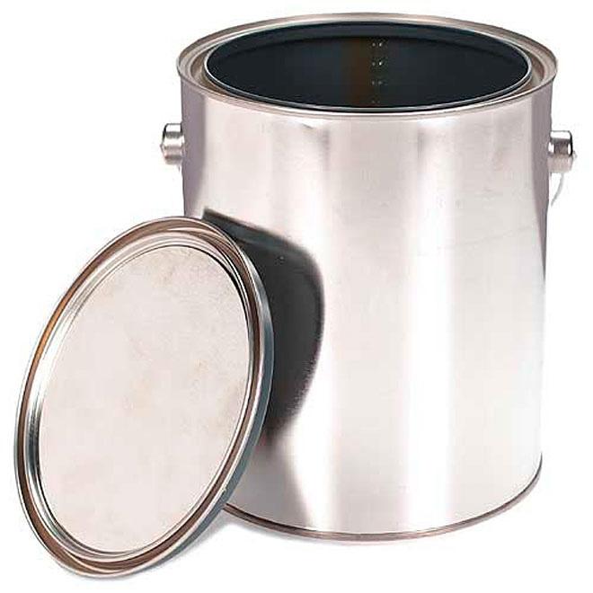 Pot à peinture en métal, 3,78 l