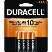 Paquet de 8 piles AAA