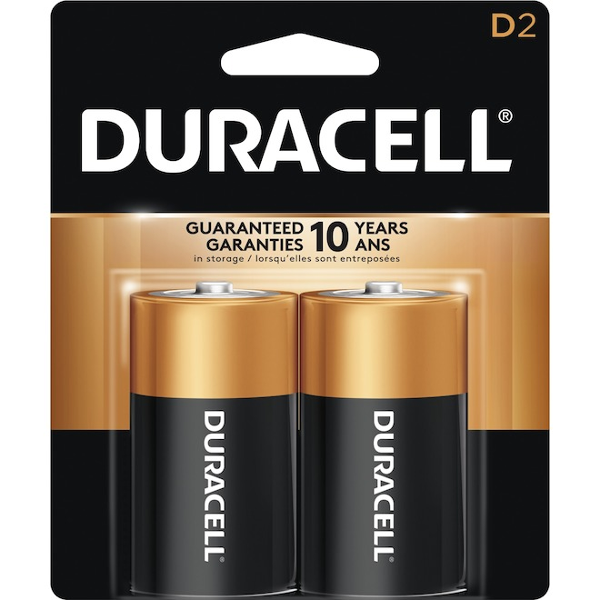 """D"" CopperTop Alkaline Batteries - 2 Pack"
