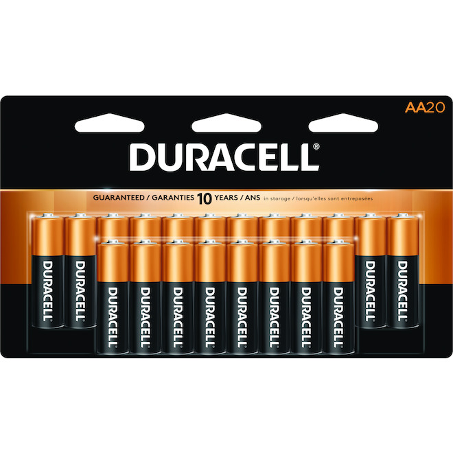 """AA"" CopperTop Alkaline Batteries - 20 Pack"
