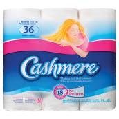 Papier hygiénique «Cashmere», paquet de 18 rouleaux