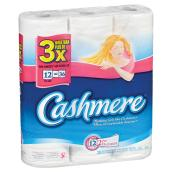 Cashmere Bathroom Tissue - 12-Roll Pack