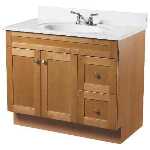 meuble lavabo 2 portes et 2 tiroirs