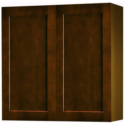 Wall Cabinet With 2 Doors Everwood 33 Espresso Rona
