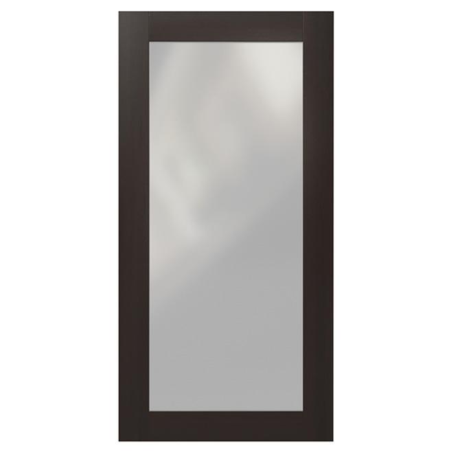 Corner Cabinet Glass Door Everwood 24 X 30 Espresso Rona