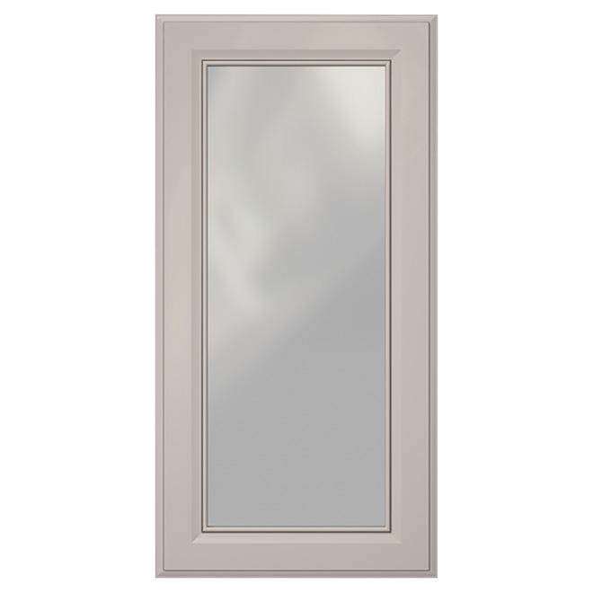Corner Cabinet Glass Door Harlow 24 X 30 Grey Rona