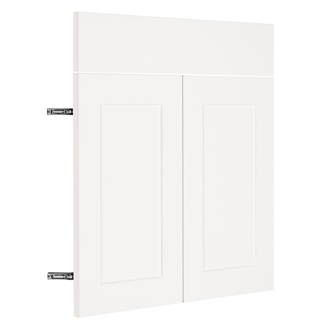 """Base Cabinet Door - Vanilla Shake - 15"""" x 30"""" - White"""