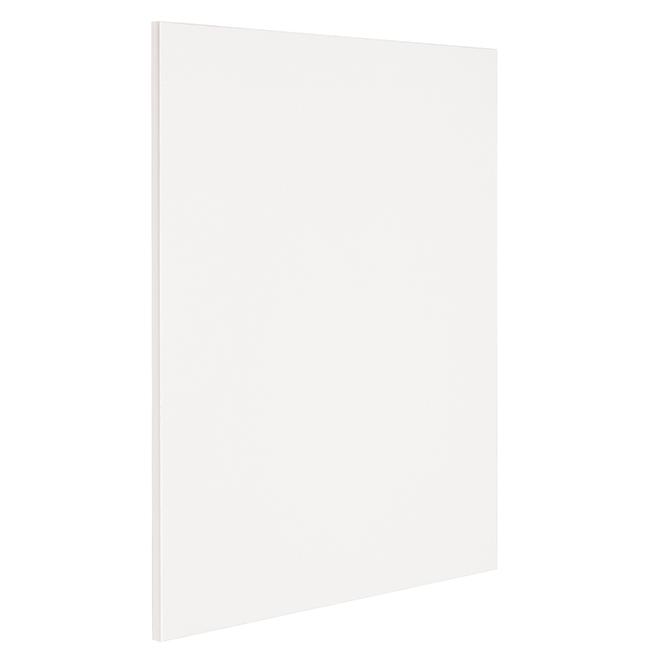 "Base Cabinet End Panel - Vanilla Shake - 24 1/2"" x 30"" - White"