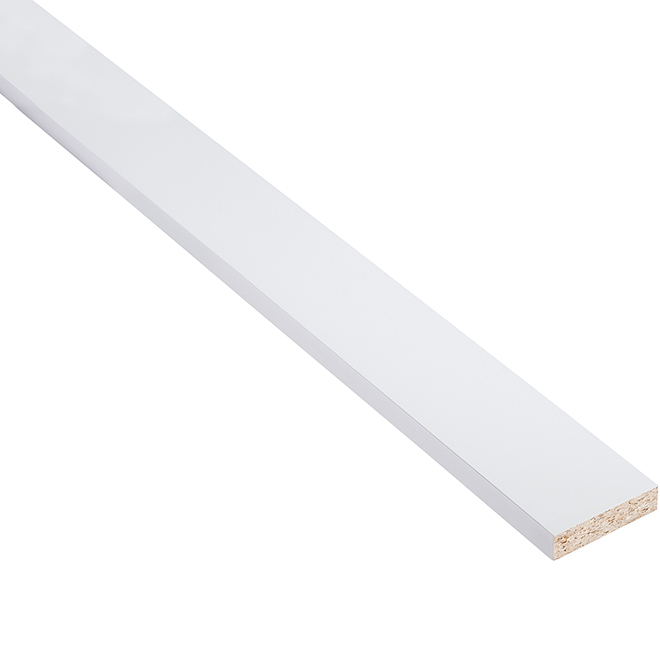 "Tall Filler - Vanilla Shake - 3"" X 80"" X 3/4"" - White"