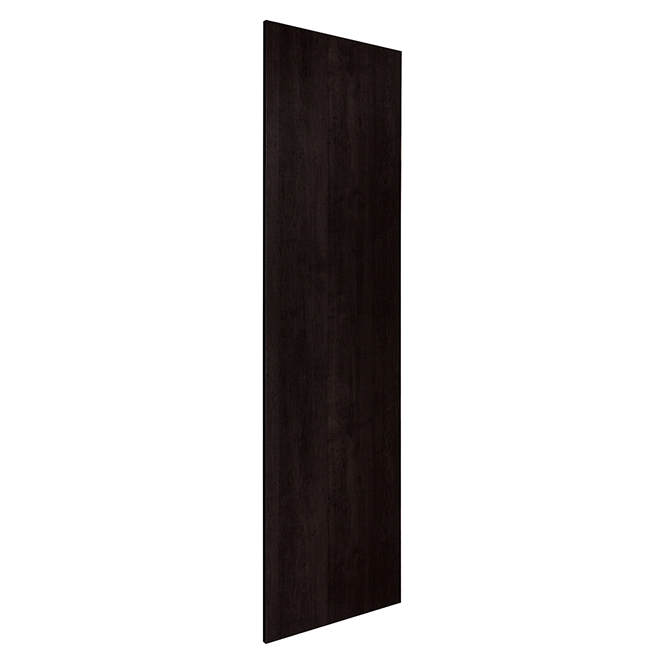 "Pantry End Panel - Brownstone Beat - 24 1/2"" x 79"" - Brown"