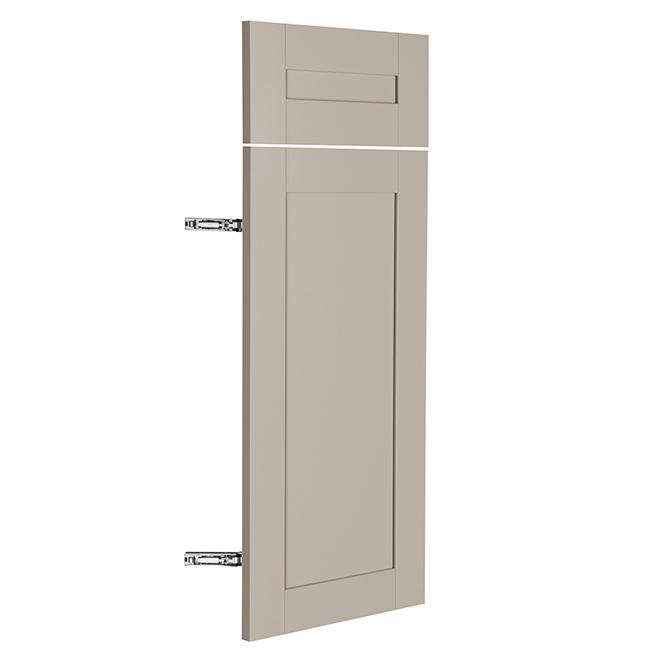 """Base Cabinet Door - Sea Salt - 12"""" x 30"""" x 3/4"""" - Grey"""