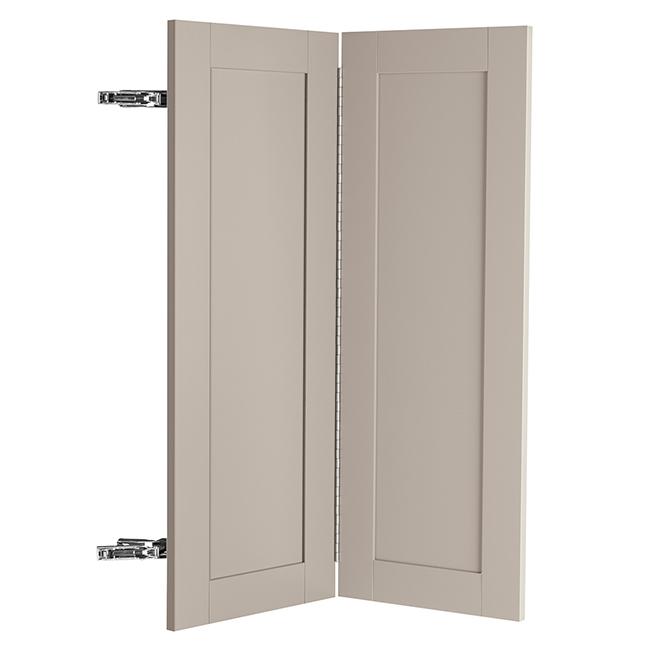 """Corner Base Cabinet Door - Sea Salt - 18"""" x 30"""" - Grey"""