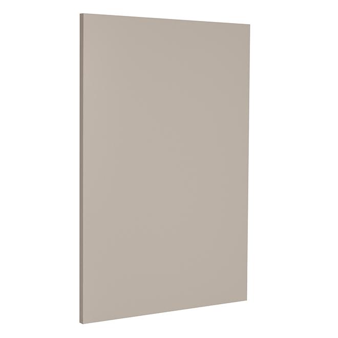 "Base Cabinet End Panel - Sea Salt - 24 1/2"" x 30"" x 3/4"" - Grey"