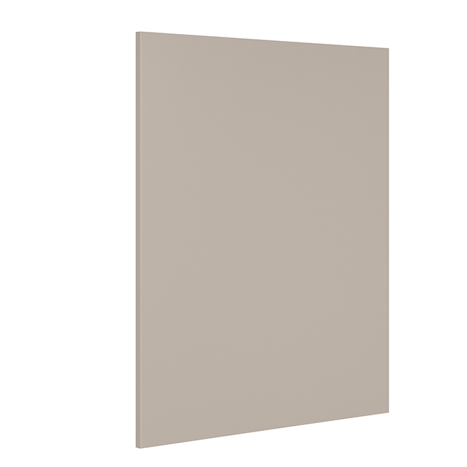 "Dishwasher Panel - Sea Salt - 24 1/2"" x 34"" x 3/4"" - Grey"
