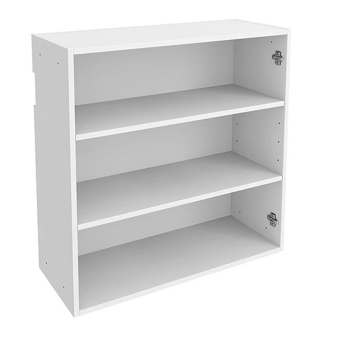 """Double Wall Cabinet - Particle Board - 30"""" x 30"""" x 12"""" - White"""