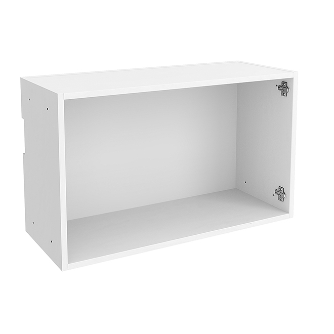 "Horizontal Wall Cabinet - Particle Board - 30"" x 18"" - White"