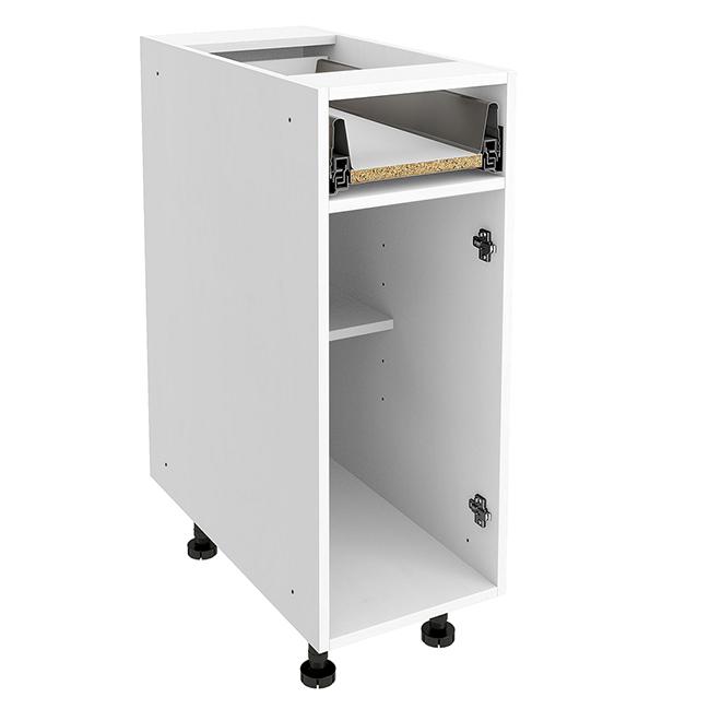 "Base Cabinet - 1 Drawer - 12"" X 30"" X 24"" - White"