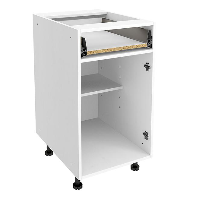 "Base Cabinet - 1 Drawer - 18"" X 30"" X 24"" - White"