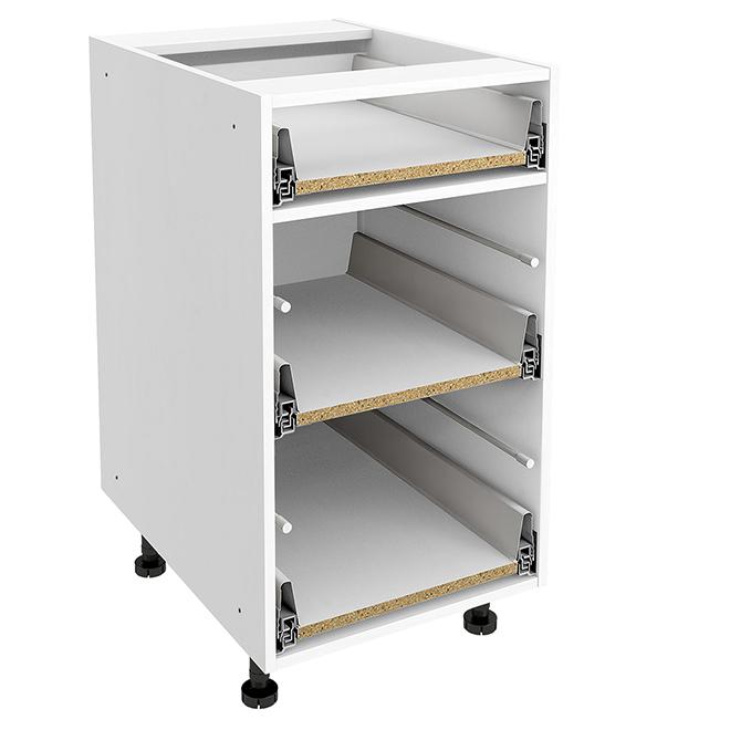 Excellent Base Cabinet 3 Drawers 18 X 30 X 24 White Download Free Architecture Designs Embacsunscenecom