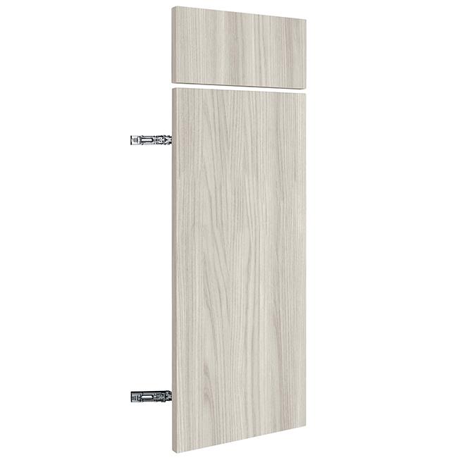 "Base Cabinet Door - Urban Rush - 12"" x 30"" x 3/4"" - Grey"
