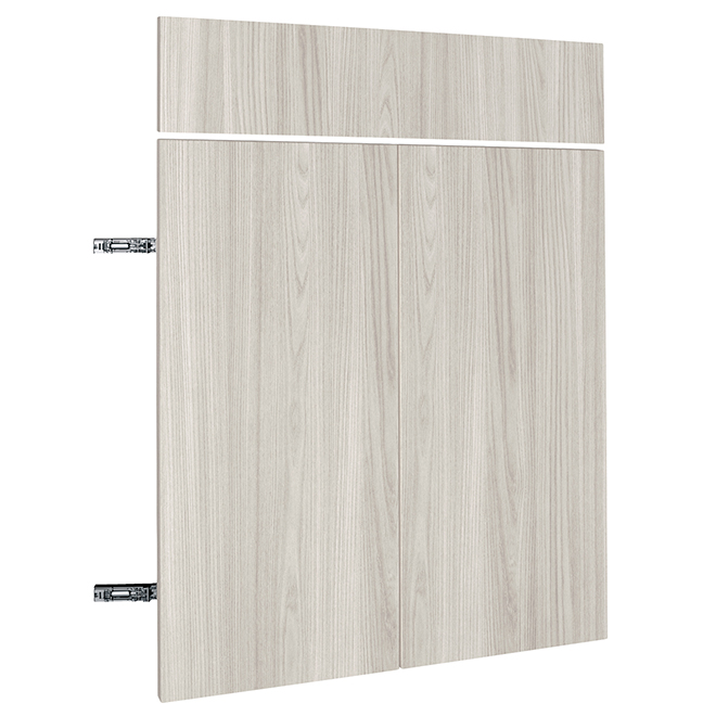 "Base Cabinet Door - Urban Rush - 24"" x 30"" x 3/4"" - Grey"