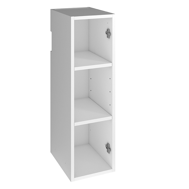 """Wall Cabinet - 9"""" X 30"""" X 12"""" - Particle Board - White"""