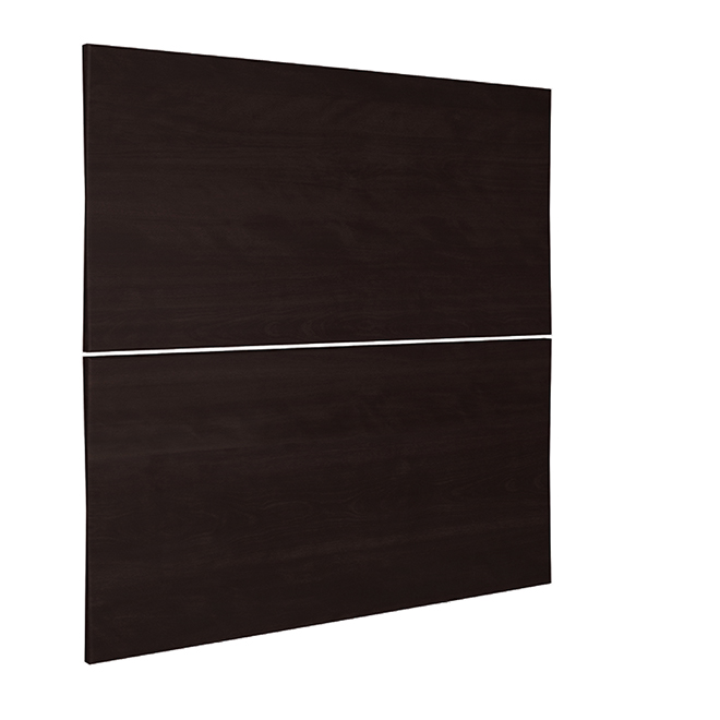"""Two-Drawer Cabinet Front - Brownstone Beat - 15"""" x 30"""" - Brown"""