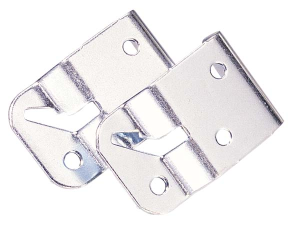 "Steel Shade Bracket - 3/4"" - Set of 2"