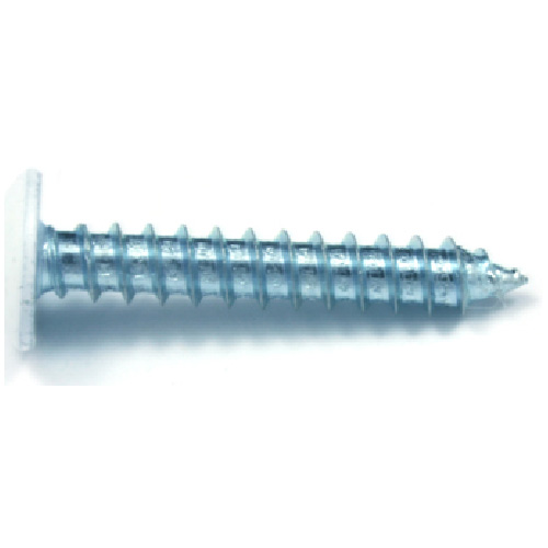 "White Truss-Head Metal Screw - #8 x 1 1/2"" - 100/Box"