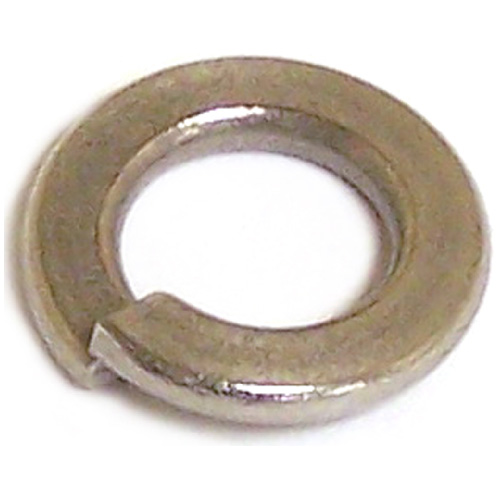 Spring Lock Washer - #8 - 100/Box - Stainless Steel