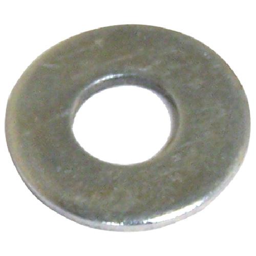 """Rondelles plates en acier, 1 1/8"""", boîte de 25, fini zinc"""