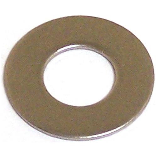 Rondelles plates en acier inoxydable, #8, boîte de 100