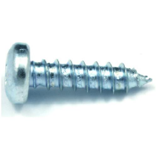 "Pan-Head Zinc-Plated Metal Screws - #8 x 5/8"" - 18/Box"