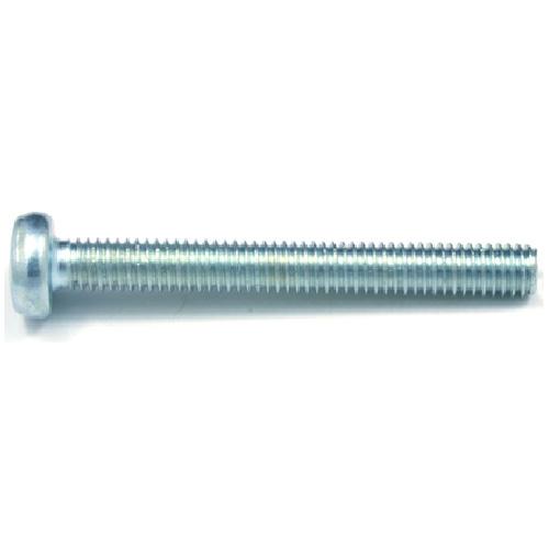 Pan-Head Zinc-Plated Machine Screws - M5 x 10 mm - 7/Box