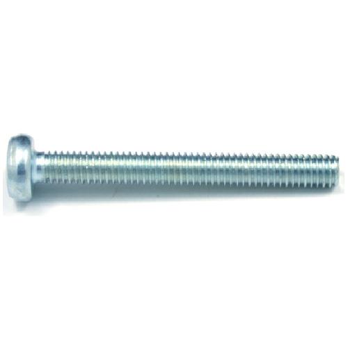 Pan-Head Zinc-Plated Machine Screws - M5 x 30 mm - 5/Box